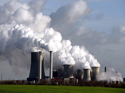 Sản xuất điện từ nhiệt của khói thải nhà máy