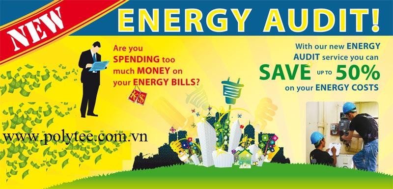 Dịch vụ Kiểm toán năng lượng và Tư vấn sử dụng năng lượng tiết kiệm hiệu quả
