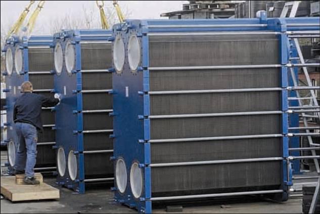 Bộ trao đổi nhiệt: bộ sấy không khí, bộ hâm nước, bình ngưng