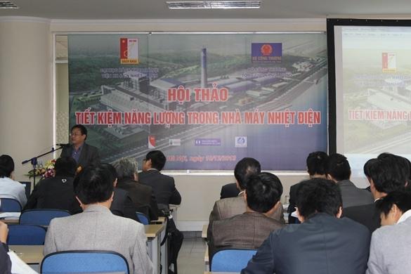 Hội thảo tiết kiệm năng lượng trong nhà máy nhiệt điện do chuyên gia hàng đầu Công ty CP Năng Lượng và Môi trường Bách Khoa đào tạo